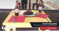 Se acerca el fin de semana y ya tenemos la terraza preparada :) Te recomendamos nuestro Pulpo Roquero como aperitivo con una cerveza bien fresquita. ¿Te esperamos!  Estamos en La Flota, Reservas 968241668