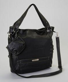 Take a look at this Black Dakota Handbag by Franco Sarto on today! Nice Handbags, Best Handbags, Franco Sarto, Totes, Take That, Black, Nice Purses, Black People, Beautiful Handbags