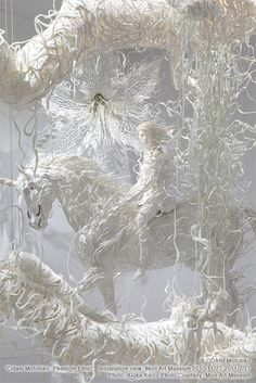 Amazing Japanese sculpture artist Odani Motohiko that uses resin as his medium as well as other materials.