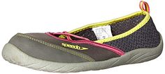 Speedo Womens Beachrunner 30 Water Shoe GreyGrey 8 M US ** Check out the image by visiting the link. (This is an affiliate link)