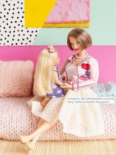 Barbie Look Parisienne Chic Barbie Top, Barbie Dolls Diy, Barbie Life, Vintage Barbie Dolls, Barbie World, Parisienne Chic, Barbie Fashionista, Cute Gift Wrapping Ideas, Pyjamas Party