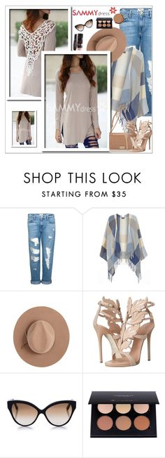 """Sammydress 11/1"" by sabinakopic ❤ liked on Polyvore featuring Frame Denim, Dorothy Perkins, Calypso Private Label, Chanel, Giuseppe Zanotti, Cutler and Gross, Urban Decay, sammydress and lovesammy"