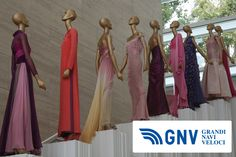 This is a #classic of #Italian #moda: an #exhibition of evening #wear by #Valentino in #Rome. Reach #Italy with #GNV here: http://www.gnv.it/en/      (PH Margaret / Shutterstock.com: http://www.shutterstock.com/gallery-5084p1.html)