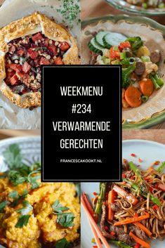 Francesca's Weekmenu #234 - Verwarmende gerechten - Francesca Kookt Gnocchi, Chana Masala, Broccoli, Ethnic Recipes, Camping, Food, Campsite, Essen, Meals