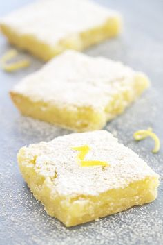 I think I might have to make this for my friend, Carol cause she loves lemon bars :-)