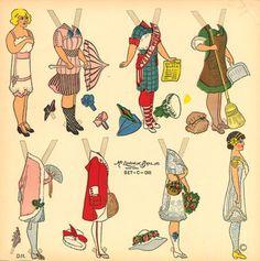 recortables muñecas de papel, paper dolls, bambole da carta, poupées en papier - merimartinez1 - Picasa Webalbum
