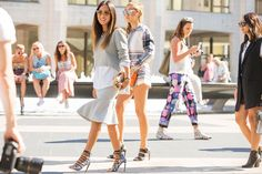 The NYFW Street-Style Looks That Truly Stunned #refinery29  http://www.refinery29.com/2014/09/73987/new-york-fashion-week-2014-street-style-photos#slide132  Aimee and Dani represent the two sides of the Song approach to style.