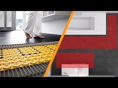 Climatização eléctrica do piso para tijoleira e pedra natural: Schlüter®...