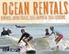 Virginia Beach ocean rental company. Located in Sandbridge adjacent to National Back Bay Wildlife Refuge with on-site water access. Surfboard sales and rentals, surf lessons and surf camps; kayak tours and rentals; bike tours and beach cruiser rentals. Body boards, chairs, umbrellas, linens, baby equipment; it's all here. Free delivery in the Sandbridge Beach area. Kayak tours through Back Bay, dolphin tours,  sunset and dinner tours.