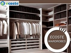 Make your #Home Beautiful with Exclusive & Stylish Ecoste  #Wardrobes - http://www.ecoste.in/