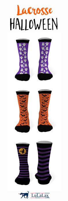 Check out LuLaLax for all your #lacrosse Halloween apparel...you're sure to look spooktacular on the field!