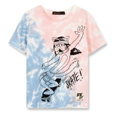 c15ca0531 Finger in the nose Skate Cat T-shirt Pale pink T Shirt Skate, Graphic
