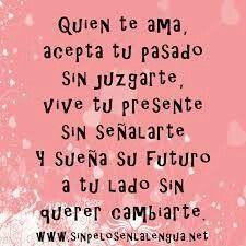In love....
