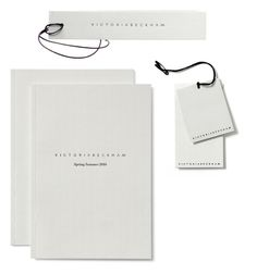 victoria beckham I just really like her collections...the branding is very simple and clean here.