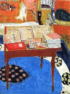 Pierre Bonnard, Work Table, 1926 - 1937 on ArtStack #pierre-bonnard #art