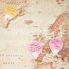20 Terrific Travel-Themed Wedding Ideas. For anyone that ever dreamed of a wedding getaway. #wedding
