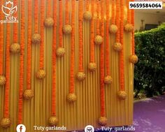 For the rectangle gate. lot of flowers and dangly golden glittery thermocol balls. House Party Decorations, Wedding Stage Decorations, Backdrop Decorations, Festival Decorations, Flower Decorations, Backdrops, Dance Decorations, Background Decoration, Diwali Decorations