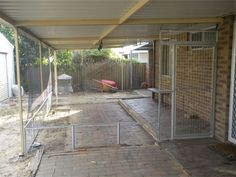 Mesh/Cat netting Patio Enclosure : This customer designed his own enclosure with the help of our special team. With a mesh bottom and Netting top, to suit his requirments.
