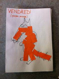 Vendredi orange (le loup qui voulait changer de couleur)