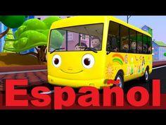 Las ruedas del autobús Parte 2   Canciones infantiles   LittleBabyBum - YouTube