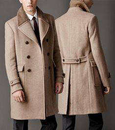 #TopMensFashionHashtags id:6013388614 Suit Fashion, Mens Fashion, Vintage Mode, Mens Winter Coat, Winter Fashion Casual, Men's Suits, Gentleman Style, Business Fashion, Business Style