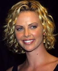 hairstyles for round faces curly hair - Google Search
