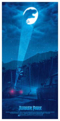TURN THE LIGHT OFF by BarbarianFactory Jurassic World Park, Jurassic Park Poster, Jurassic Park 1993, Michael Crichton, Jurrassic Park, Park Art, Jurassic Movies, Films Cinema, I Love Cinema