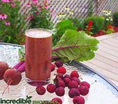 Cherry-Beet Green Smoothie Recipe
