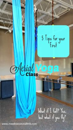 5 Tips to Rock Your First Aerial Yoga Class
