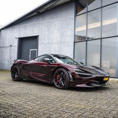 McLaren painted in Harissa Pink w Pink accents Picture taken Exotic Sports Cars, Exotic Cars, Mclaren Sports Car, Mclaren P1, Maclaren Cars, Super Sport Cars, Top Cars, Fast Cars, Luxury Cars