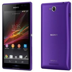 Sony Xperia C C2305 - Dual SIM, 4GB, 3G Wifi purple price, review and buy in Egypt, Alexandria City, Cairo | Souq