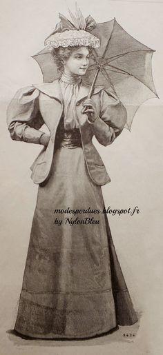 A la Recherche des Modes Perdues et Oubliées: La Mode pratique - Aout 1894 *