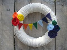 Ramblings from the Sunshine State: Morgan's Rainbow Party! Lots of cute rainbow details.