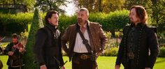 Photo of the musketeers together for fans of Ray Stevenson. the three musketeers 0 Image, Image Notes, The Three Musketeers 2011, Ray Stevenson, Christoph Waltz, Matthew Macfadyen, Delete Image