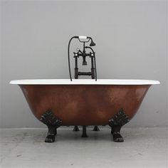 Cast Iron Vintage Tubs, Clawfoot And Pedestal Bathtubs For Sale | Bathrooms  | Pinterest | Vintage Tub, Bathtubs And Black Exterior
