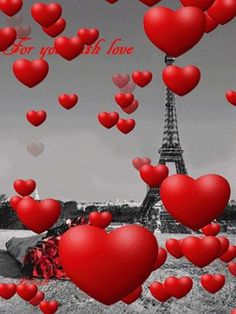 There is no better place.to find the Love! I want go to París! And this gif is great! Heart Wallpaper, Love Wallpaper, Love Images, Love Pictures, Beautiful Gif, Beautiful Flowers, Love You Gif, My Love, Animated Heart