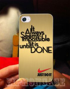 nike just do it gold case for galaxy s3galaxy s4 by eiPhonCase, $14.50 #iphone #iphone4 #iphone5 #nike #NBA
