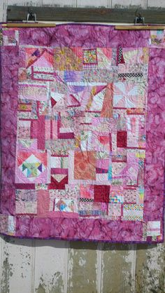 Breast Cancer Quilt!