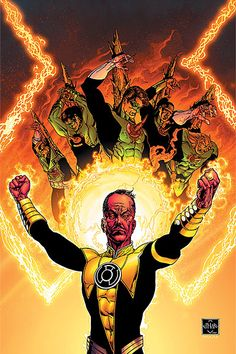 """""""Green Lantern: The Sinestro Corp Wars"""". Geoff Johns continues his reign on my favorite DC hero."""