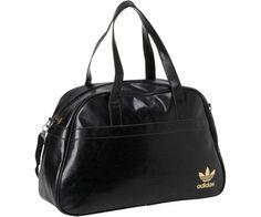 cdf3aace67ae Adidas Adicolor Holdall black gold Grab Bag