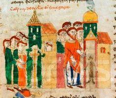 Rabanus Maurus, De Universo, 1023. Alegorías: Ecclesia et Synagoga. Las alegorías teológicas y sus atributos en el arte visual.