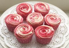 Raspberry Ripple Almond Cupcakes. Just look at these beauties. Moist almond cupcakes, with a swirl of raspberry ripple buttercream on top. These may be my favourite cupcakes ever. I love them. Could you resist one or two of these delicious cupcakes? I couldn't! As soon as these photographs had been taken I ate two of these. … Continue reading Raspberry Ripple Almond Cupcakes