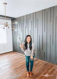 Accent Walls In Living Room, Accent Wall Bedroom, Bedroom Decor, Kitchen Accent Walls, Bedrooms With Accent Walls, Accent Wall In Bathroom, Accent Wall Decor, Diy Interior, Home Interior Design