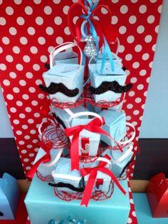 Favors at a Mustache Party #mustache #partyfavors