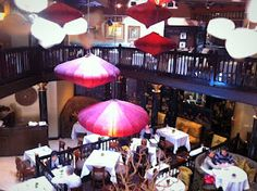 """The glam interior crustecean beverly hills try the vegan """"crab cakes"""" walk on water fish pond to see/walk over Crustacean Beverly Hills, Vegan Crab, Garlic Noodles, Walk On Water, Live Fish, Fresh Seafood, Crab Cakes, Pond, Tasty"""