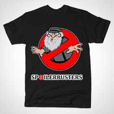 "Tired of spoilers? Then ""Spoilerbusters!"" is for you! #gameofthrones #ghostbusters #tshirt"