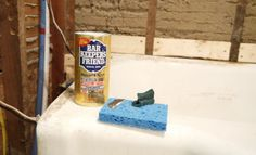Bar Keepers Friend is great for restoration projects. Check it out!