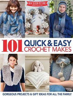 101 Quick and Easy Crochet Makes 2014 - 轻描淡写 - 轻描淡写