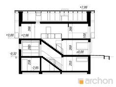 Dom w zdrojówkach (P) Floor Plans, Projects, Floor Plan Drawing, House Floor Plans
