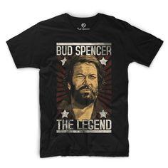Ab sofort ist das neue Bud Spencer – The Legend T-Shirt erhältlich
